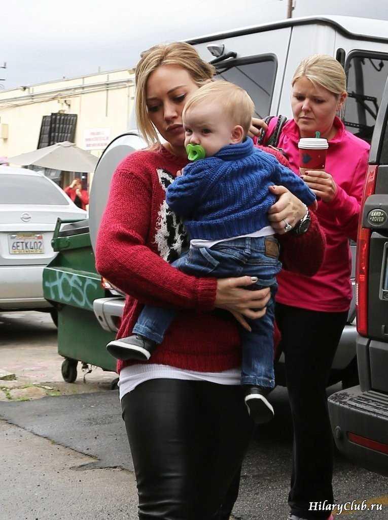 Hilary duff 2012 baby